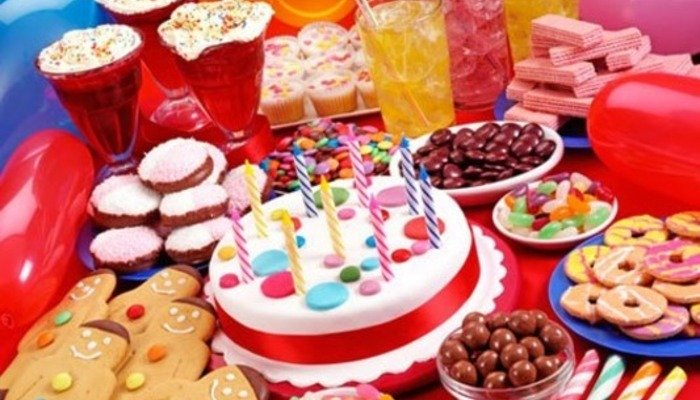 Меню на день рождения