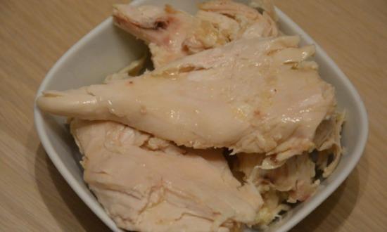 сварили курицу