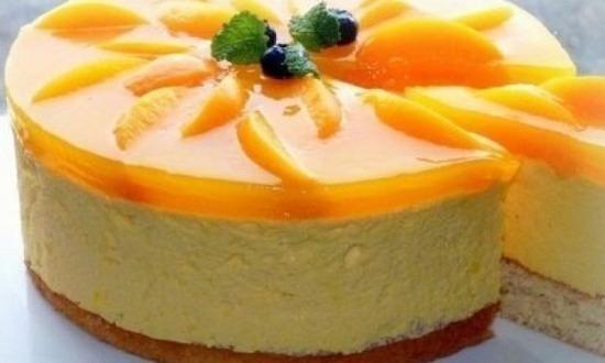 Торт «Фруктовое суфле»