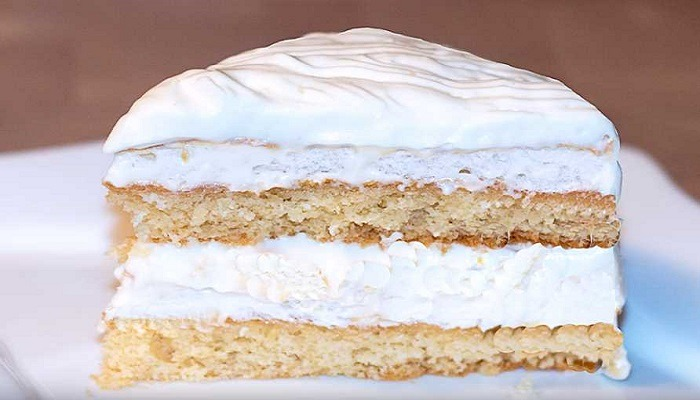 торт Белоснежка