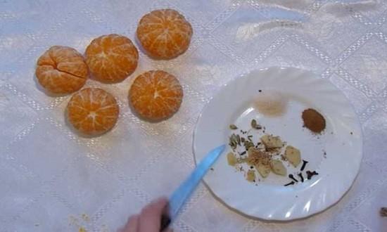 мандарины очищенные