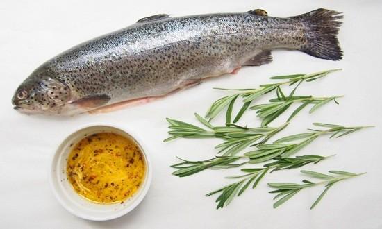 подготовить рыбу, маринад