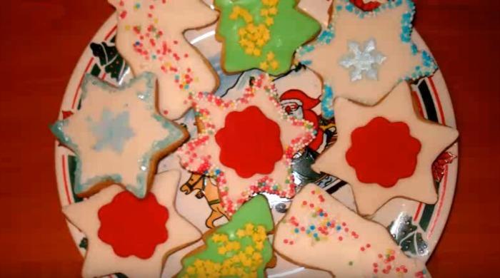 печенье рождественское