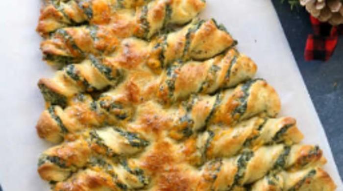 Пирог «Елочка» из сдобного теста
