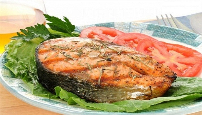 лосось, запеченный в духовке