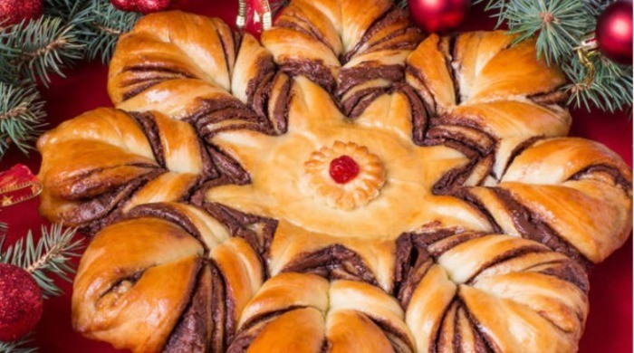 Пирог «Рождественская звезда»