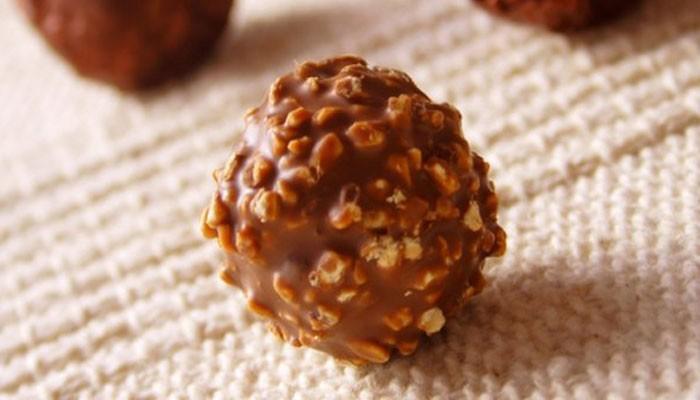 Шоколадные конфеты с орехами