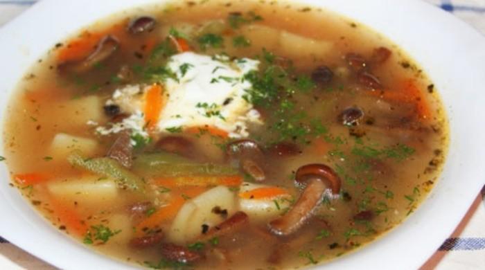 грибной суп с замороженными грибами рецепт