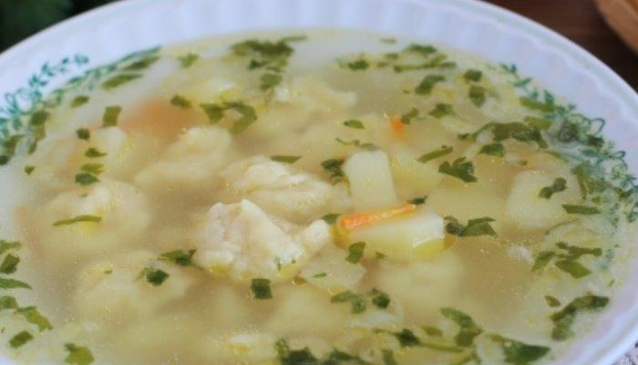 Суп с клёцками как в детском саду