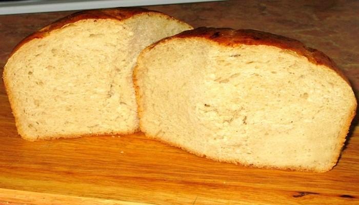 пшеничный хлеб без дрожжей