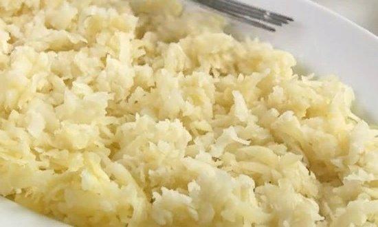 Слой отварного картофеля
