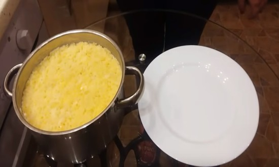 слой из картофеля
