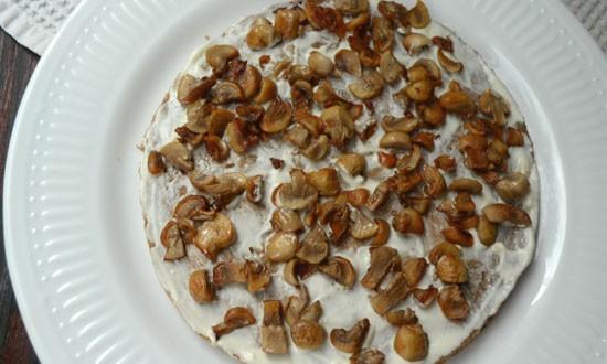 прокладываем слой грибов