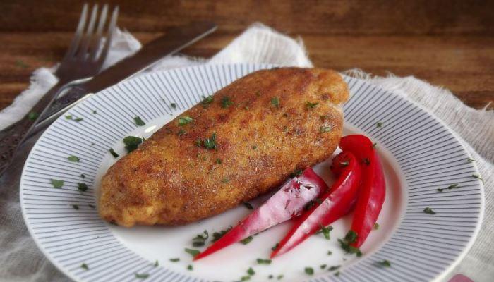 Котлета по-киевски из куриного филе