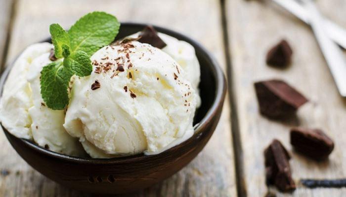 Мороженое из молока