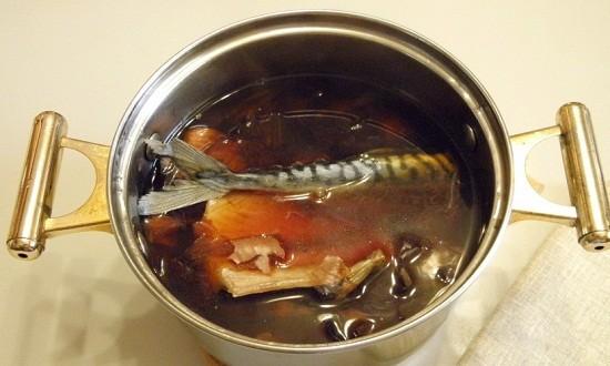 рыбу в рассол