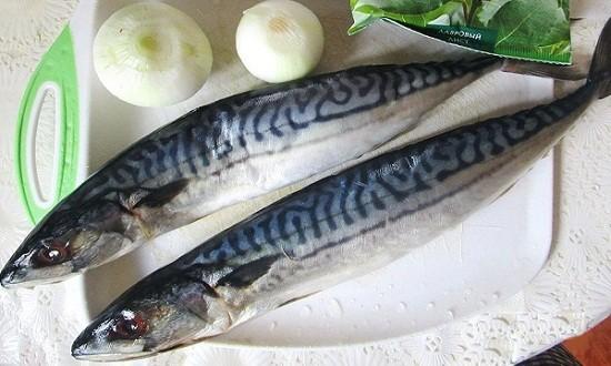 рыба, лук
