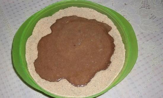 сухари, шоколадная масса