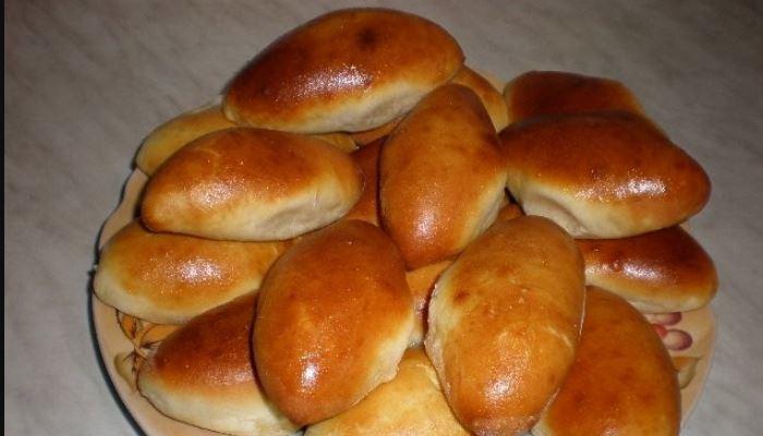Пирожки с картошкой на молоке и на дрожжевом тесте