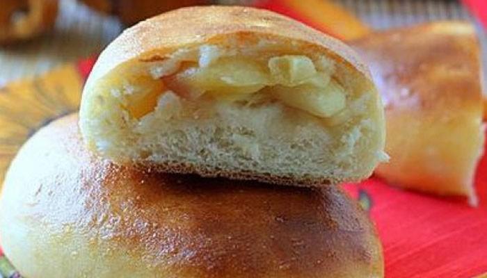 Пирожки с яблоками на кефире