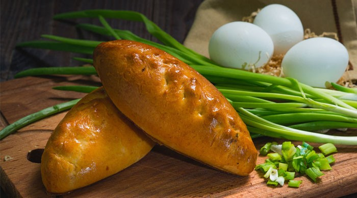 Пирожки с зеленым луком и яйцом — рецепты очень вкусной выпечки