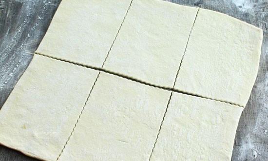 нарезанное тесто