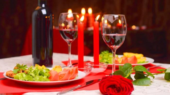 Ужин на 8 Марта