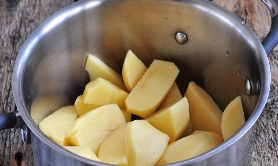 отваренная картошка