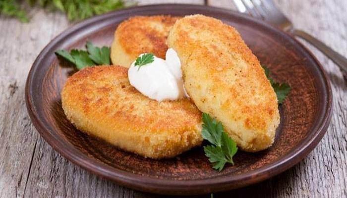 Картофельные зразы с яйцом и мясом