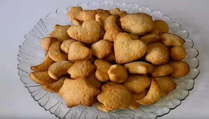 печенья на рассоле простой рецепт