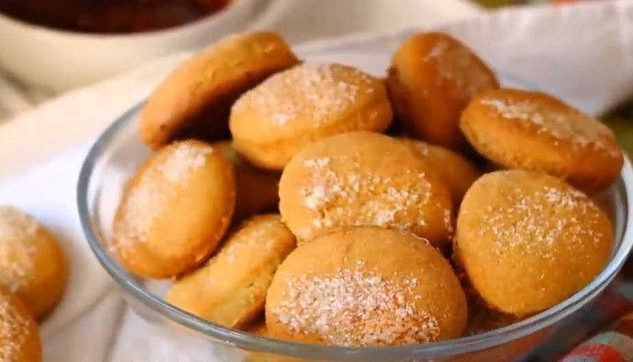 печенье на рассоле с манкой