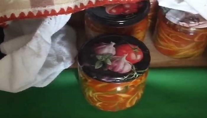черемша на зиму с томатной пастой