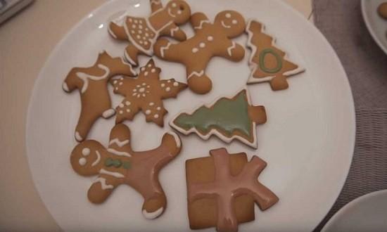 украсить печенья