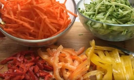 готовый овощи
