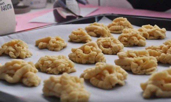 сформировать печенья
