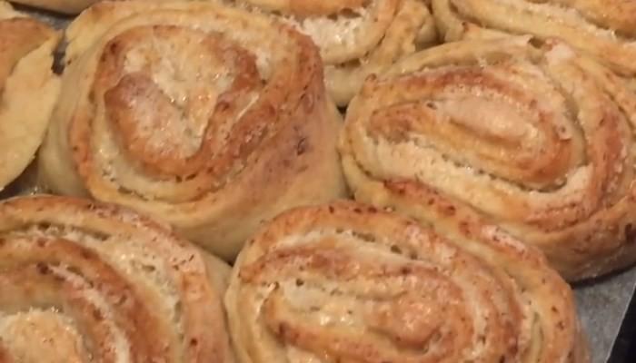 "Печенье из творога ""Розочки"" с безе"