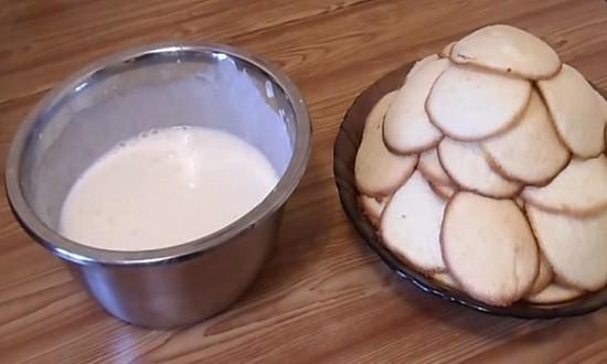Готовим крем для обмакивания печеньев