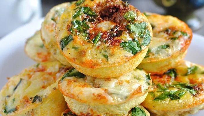 Солёные сырники с зеленью