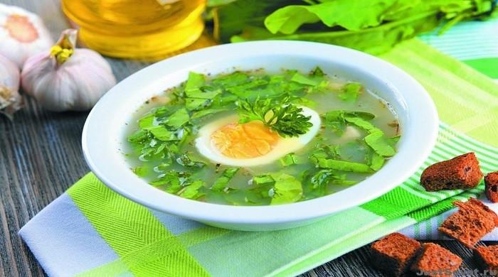 Как приготовить щи с щавелем на курином бульоне — 8 рецептов зелёного супа