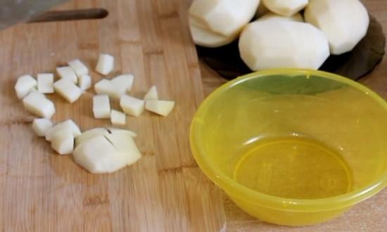 Режем картошку