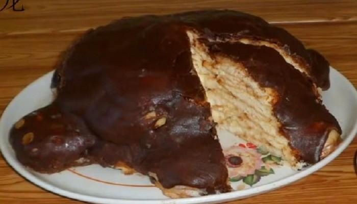 Торт черепаха по госту