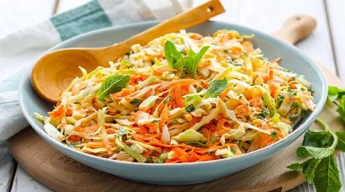 Весенний салат из капусты и моркови — быстрые и вкусные рецепты приготовления