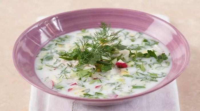 Окрошка на кефире с курицей — 7 классических рецептов приготовления холодного супа