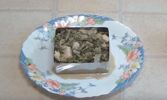 Формуем салат