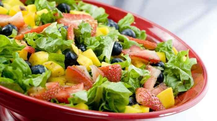 Какие салаты можно приготовить для похудения