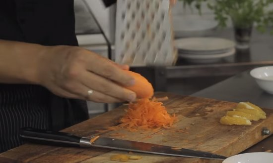 Трём морковь