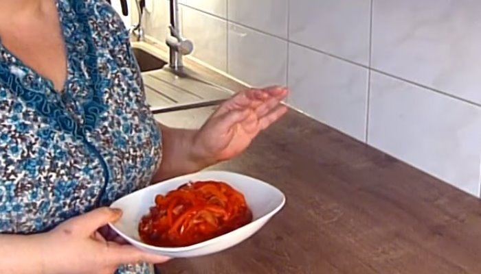Овощной гарнир к рыбе