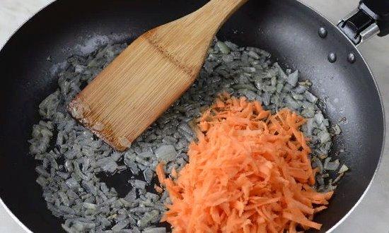 Добавляем морковь