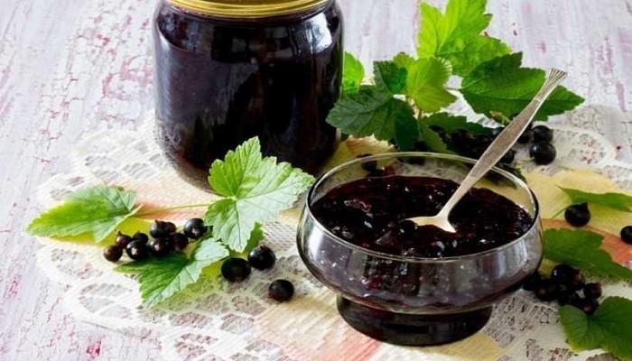Варенье из черной смородины без сахара