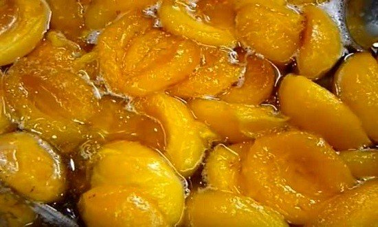 варим абрикосы
